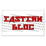 Eastern Bloc Sticker (Rectangle 50 pk)