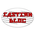 Eastern Bloc Sticker (Oval 10 pk)