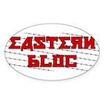 Eastern Bloc Sticker (Oval)