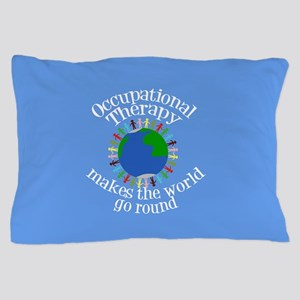 Occupational Therapy World Pillow Case