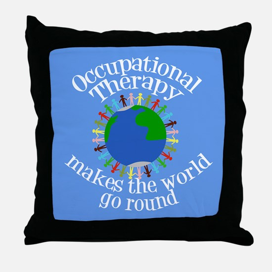 Occupational Therapy World Throw Pillow