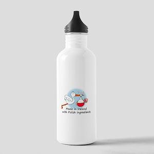 Stork Baby Poland Ireland Stainless Water Bottle 1