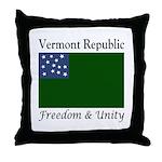 Vermont Republic Throw Pillow