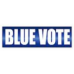 BLUE VOTE Bumper Sticker