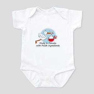 Stork Baby Poland Canada Infant Bodysuit