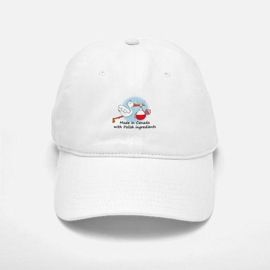 Stork Baby Poland Canada Baseball Baseball Cap