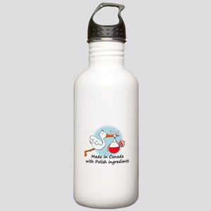 Stork Baby Poland Canada Stainless Water Bottle 1.