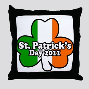 St. Patrick's Day 2011 Throw Pillow