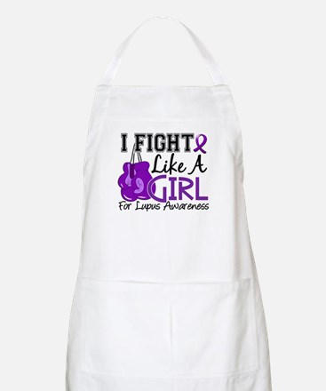 Licensed Fight Like a Girl 15.5 Lupus Apron