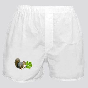 Shamrock Squirrel Boxer Shorts
