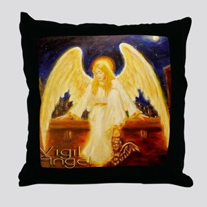 AngelsRealm Throw Pillow