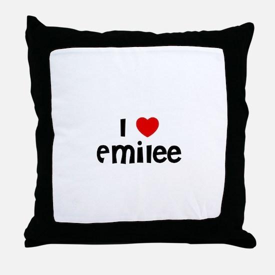 I * Emilee Throw Pillow
