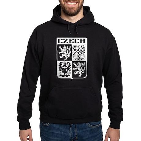 Czech Coat of Arms Hoodie (dark)