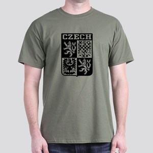Czech Coat of Arms Dark T-Shirt