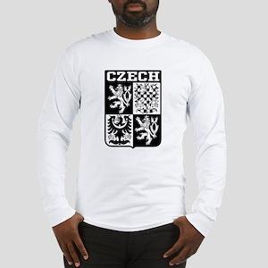 Czech Coat of Arms Long Sleeve T-Shirt
