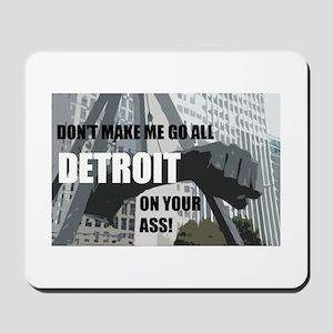 Detroit Girl Mousepad