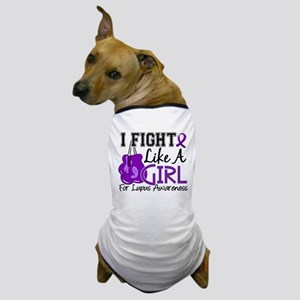 Licensed Fight Like a Girl 15.5 Lupus Dog T-Shirt