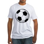 Soccer Ball Fitted T-Shirt