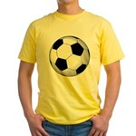 Soccer Ball Yellow T-Shirt