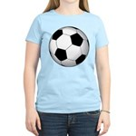 Soccer Ball Women's Light T-Shirt