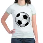 Soccer Ball Jr. Ringer T-Shirt