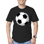 Soccer Ball Men's Fitted T-Shirt (dark)