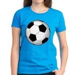 Soccer Ball Women's Dark T-Shirt