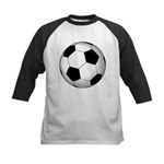 Soccer Ball Kids Baseball Jersey
