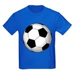 Soccer Ball Kids Dark T-Shirt