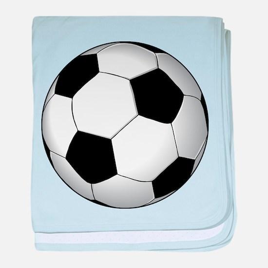 Soccer Ball baby blanket