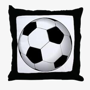 Soccer Ball Throw Pillow