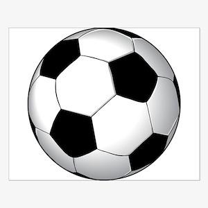 Soccer Ball Small Poster