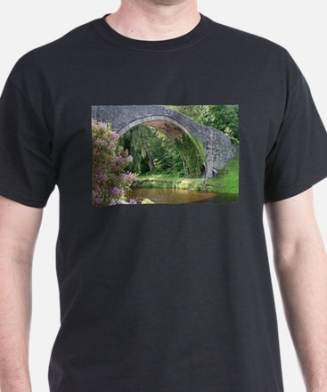 Brig O' Doon bridge, Alloway, Scotland T-Shirt