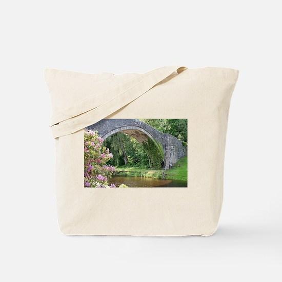 Brig O' Doon bridge, Alloway, Scotlan Tote Bag