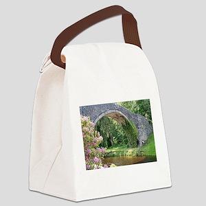 Brig O' Doon bridge, Alloway, Canvas Lunch Bag