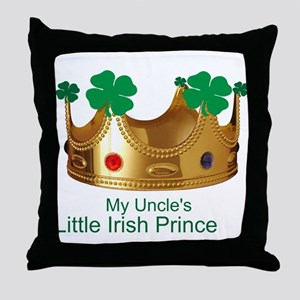 Irish Prince/Uncle Throw Pillow