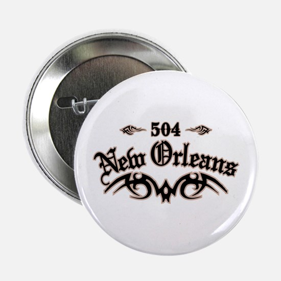 "New Orleans 504 2.25"" Button"