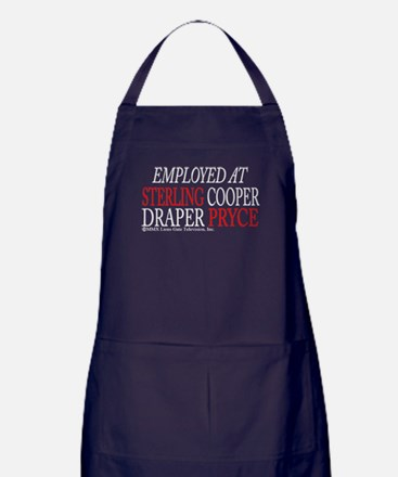 Employed at Sterling Cooper Apron (dark)