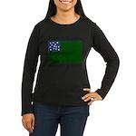 Vermont Republic Women's Long Sleeve Dark T-Shirt