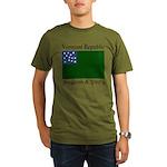 Vermont Republic Organic Men's T-Shirt (dark)