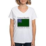 Vermont Republic Women's V-Neck T-Shirt