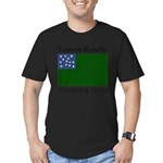 Vermont Republic Men's Fitted T-Shirt (dark)