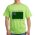 Vermont Republic Green T-Shirt
