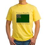 Vermont Republic Yellow T-Shirt