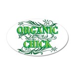 Organic Chick 38.5 x 24.5 Oval Wall Peel