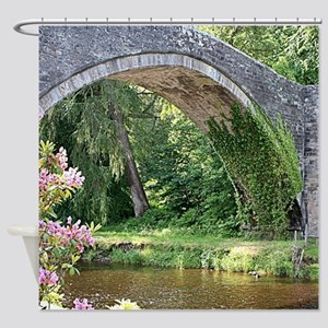 Brig O' Doon bridge, Alloway, S Shower Curtain