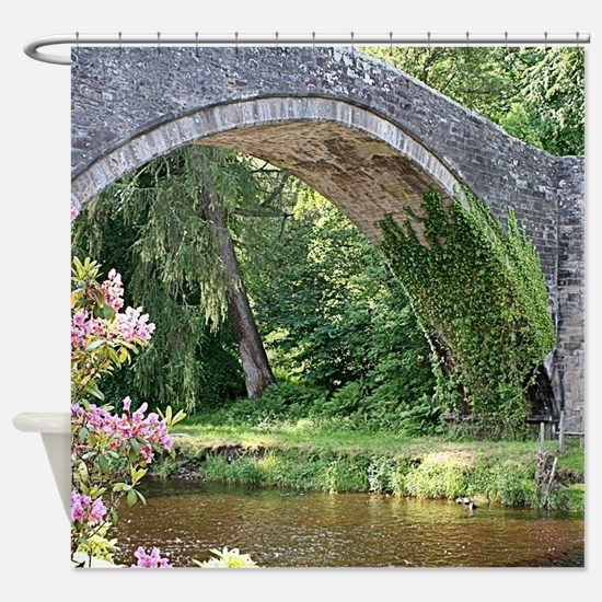 Brig O' Doon bridge, Alloway, S Shower Curtain