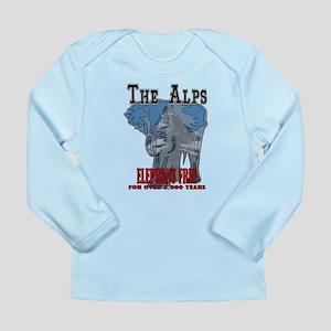 Alps - Elephant Free Long Sleeve Infant T-Shirt