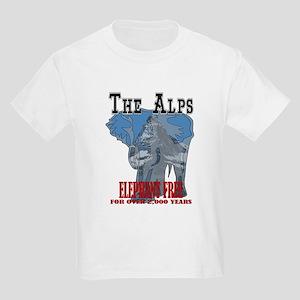 Alps - Elephant Free Kids Light T-Shirt