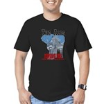 Alps - Elephant Free Men's Fitted T-Shirt (dark)